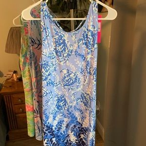 Blue Turtle Lily Pulitzer Dress